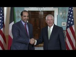 Secretary Tillerson Meets with Kuwaiti Minister Al-Sabah