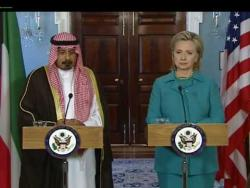 Secretary Clinton Meets With Kuwaiti Foreign Minister