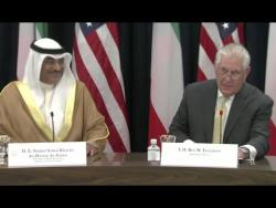 Tillerson And Kuwait Foreign Affairs Minister- Full Statements