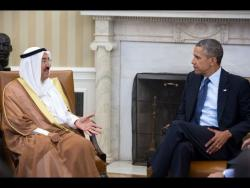 President Obama and the Amir of Kuwait