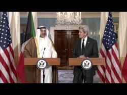 Camera Spray With Secretary Kerry and Kuwaiti First Deputy Prime Minister